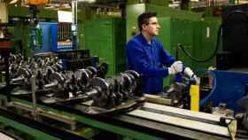 Vista de la planta de motores y mecanizados de Ford Almussafes. EE