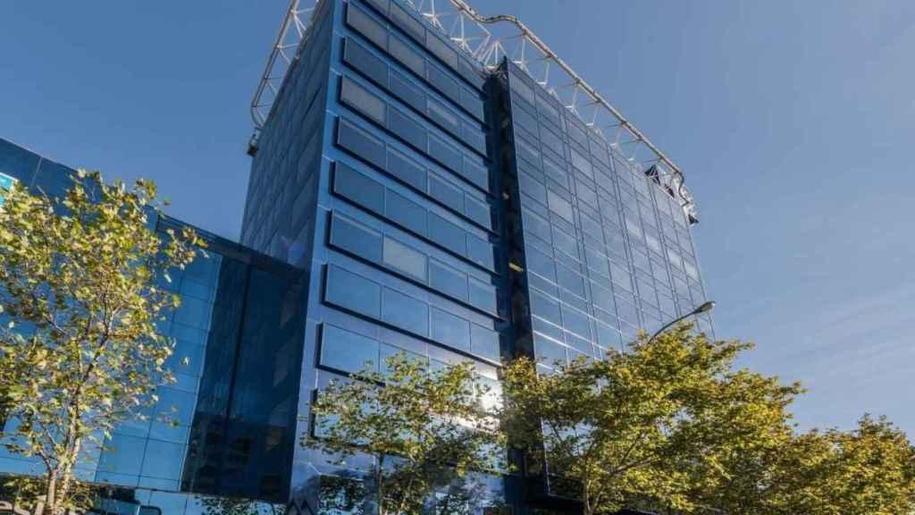 Edificio en calle Príncipe de Vergara 108 (Madrid) que ha comprado UBS.