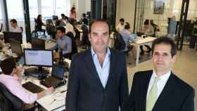 Alfonso De León Y Francisco Velazquez, socios de la firma de Venture Capital Axon