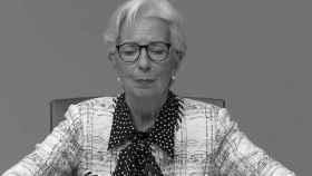 La presidenta del BCE, Christine Lagarde, con gesto de preocupación.