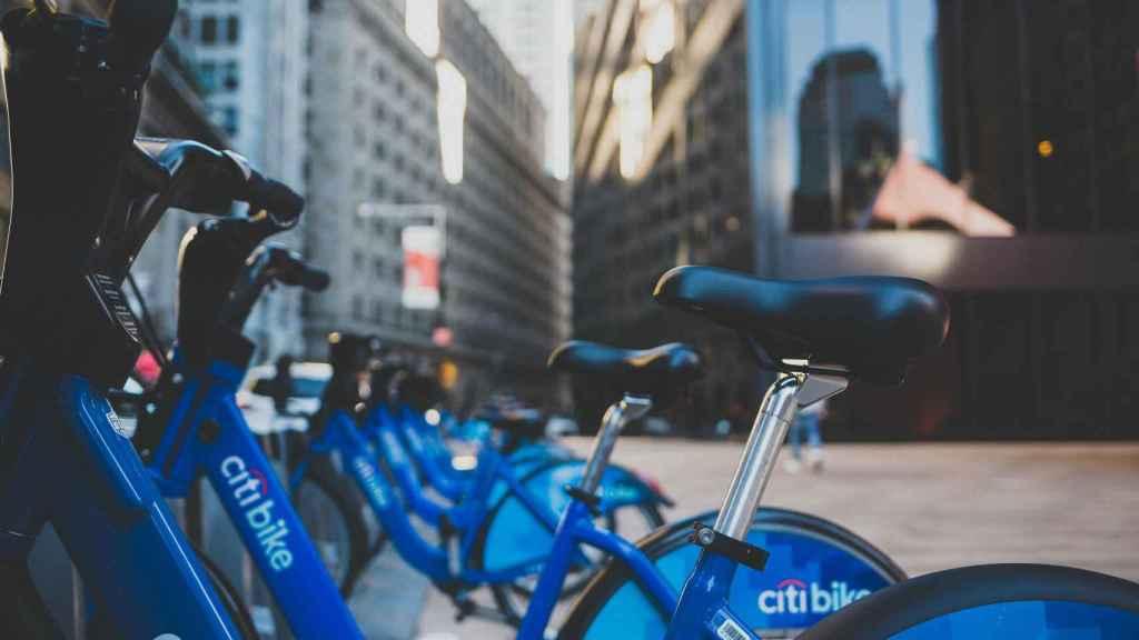 Bicicletas patrocinadas por Citi.