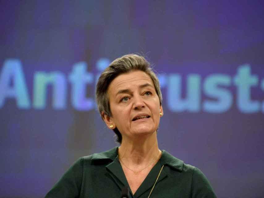 La vicepresidenta de la Comisión, Margrethe Vestager, es la máxima responsable de las nuevas reglas para plataformas