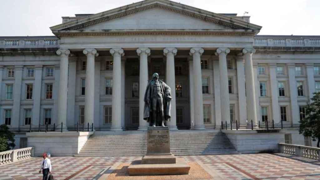 El Departamento de Tesoro de EEUU.