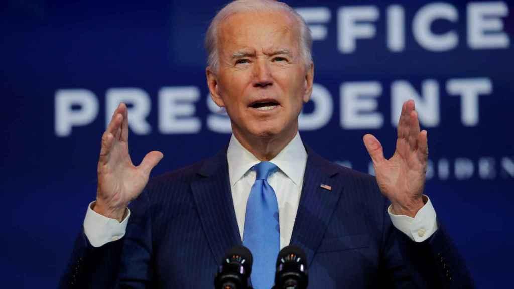 Joe Biden será el 46º presidente de EEUU.