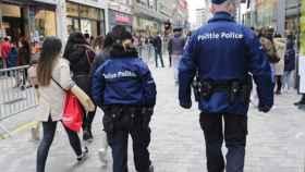 Policías belgas en una imagen de archivo.