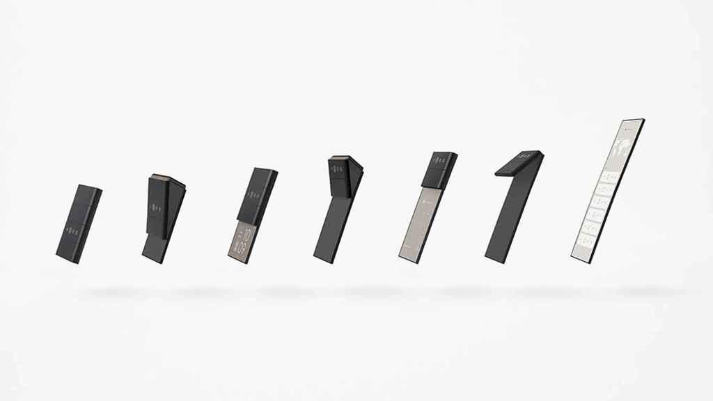 Concepto de móvil plegable de Oppo