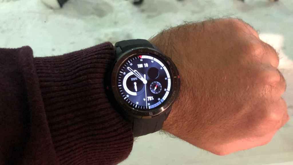 El Honor Watch GS Pro admite más de 100 entrenamiento diferentes.