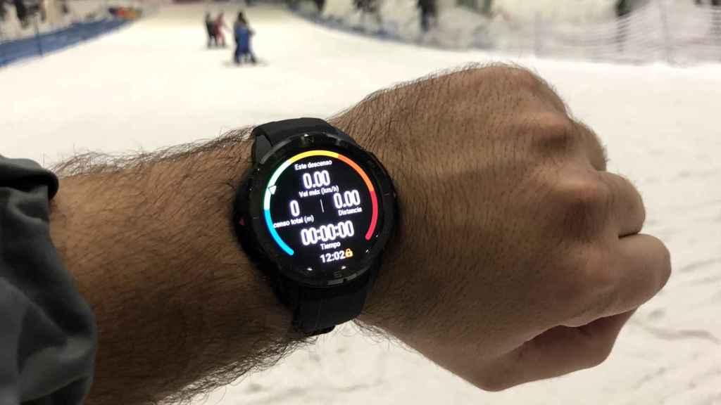 El Honor Watch GS Pro antes de iniciar la actividad.