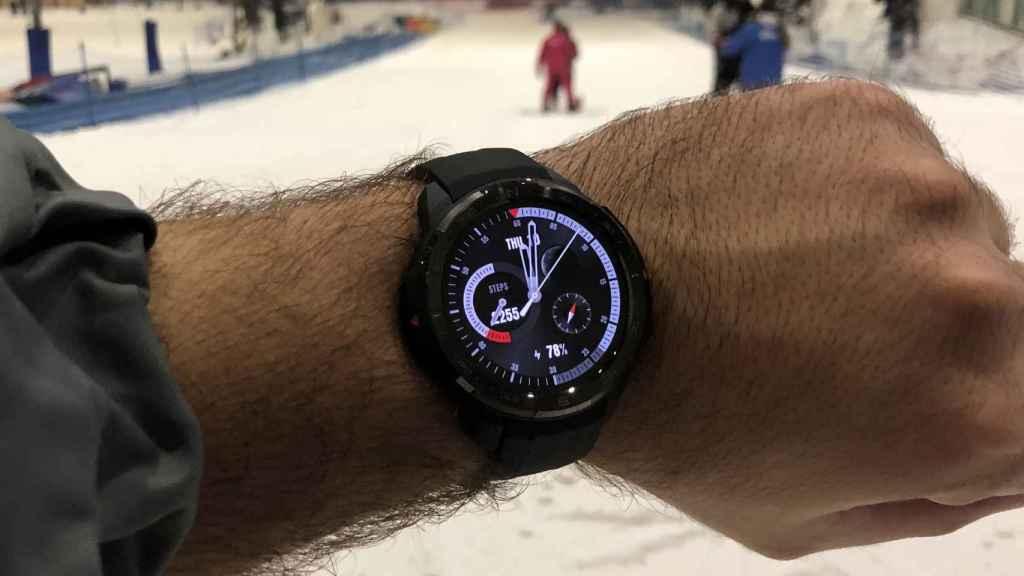 Probamos el modo snowboard del Honor Watch GS Pro.