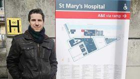 Massimo Colombi, el enfermero que impulsó en España que los pacientes de Covid-19 se pudieran despedir de sus familiares.
