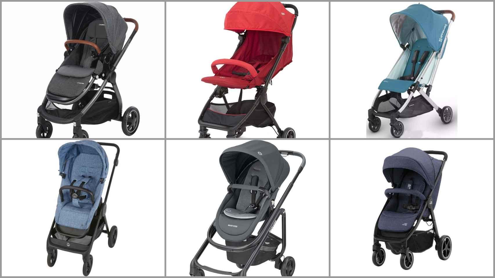 Algunos de los 12 mejores carritos de bebé