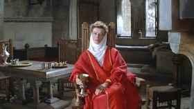 Katherine Hepburn interpretando a Leonor de Aquitania en 'El león en invierno'.