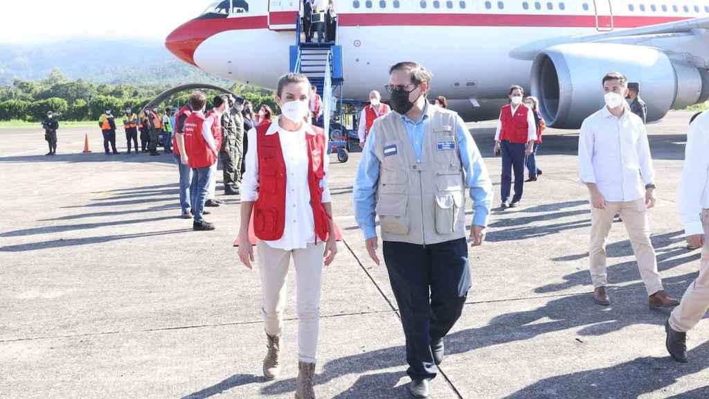 La reina Letizia ha aterrizado en Honduras este lunes.