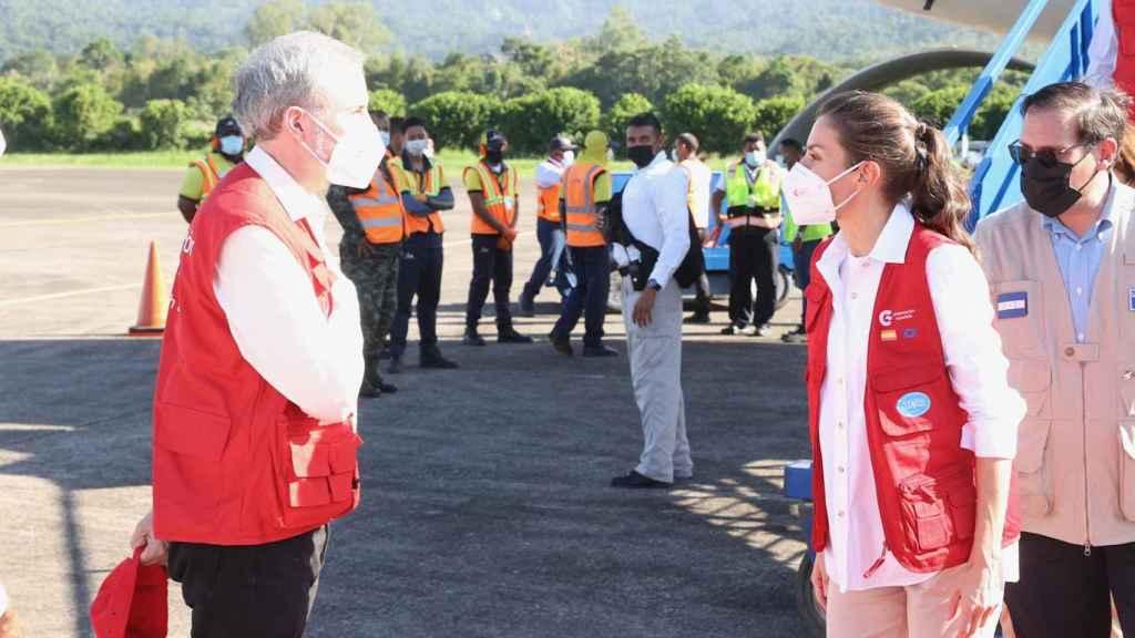 Con la llegada de Letizia a Honduras se consolida la unión solidaria entre poblaciones.