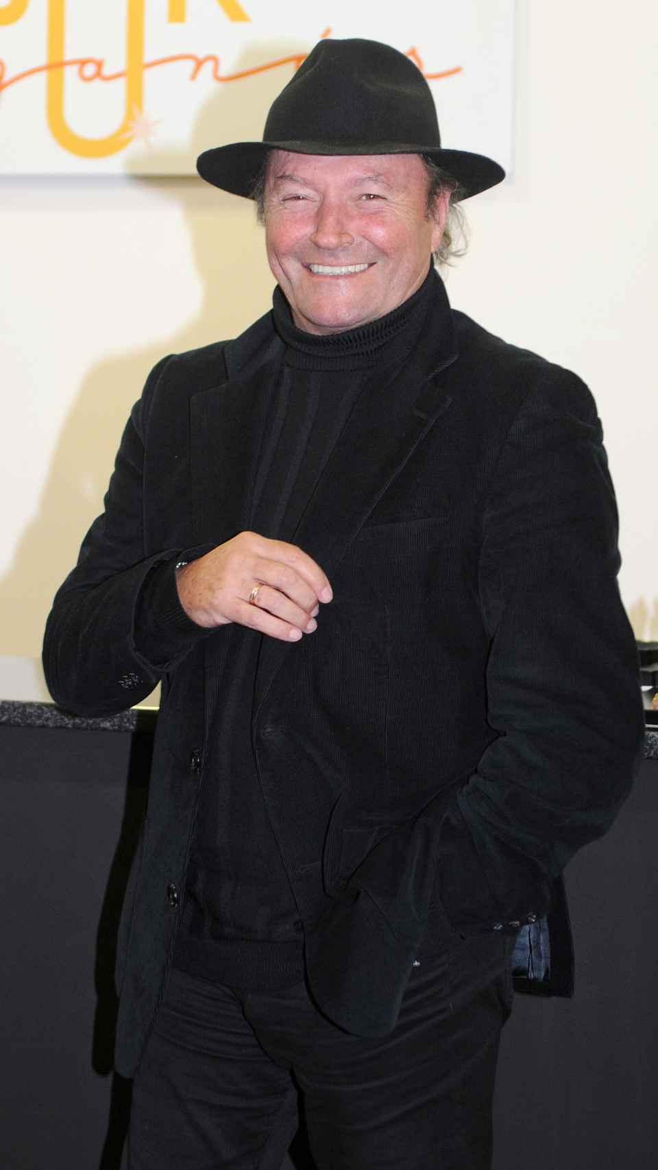 Amador Mohedano en la inauguración de una sala de juegos en el año 2018.