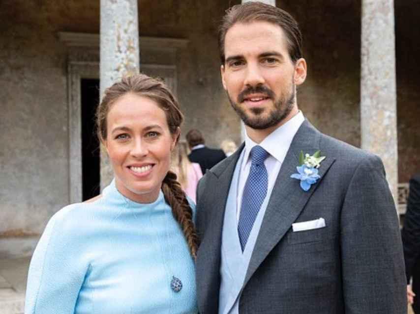 Felipe de Grecia y Nina Flohr solo estuvieron acompañados por sus padres.