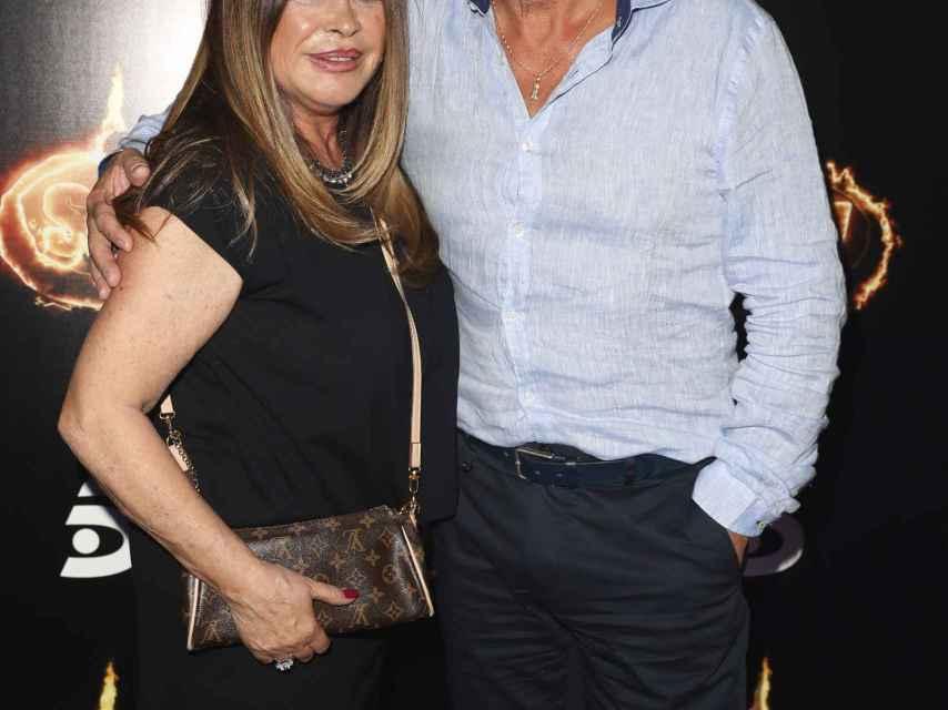 Francisco y su mujer Paca en junio de 2018 tras su aventura en 'Supervivientes'.