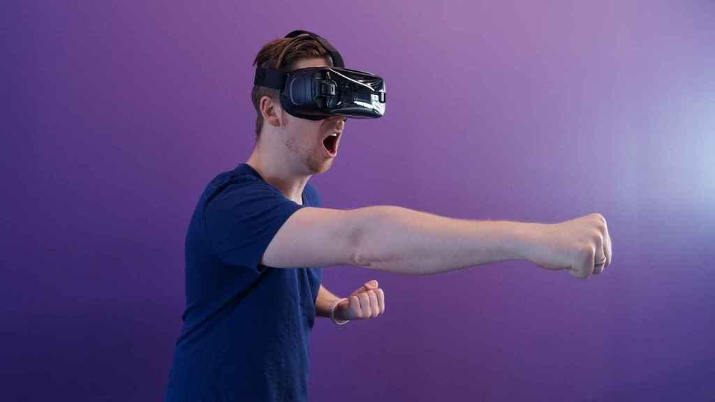 Un sistema de realidad virtual.