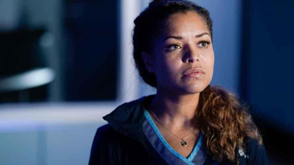 Antonia Thomas es Claire en 'The Good Doctor'