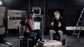 Ana Pastor entrevista a Emilio Aragón.