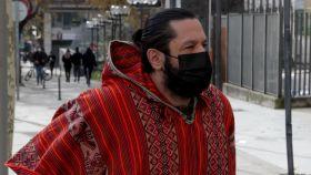 Rafael Amargo a las puertas del juzgado este martes 15 de diciembre.