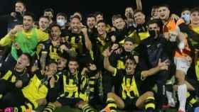 Los jugadores del CE Cardassar. Foto: Twitter (@cardassar)