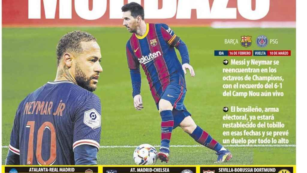 La Portada Del Diario Mundo Deportivo 15 12 2020