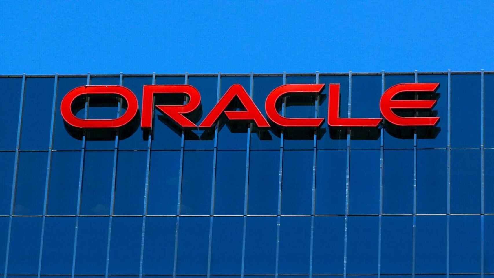 Fachada de la sede central de Oracle, en EE.UU.