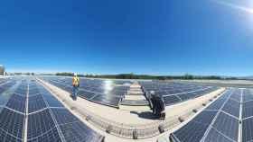 La fábrica de Ontex en Segovia, uno de los mayores proyectos de autoconsumo de España