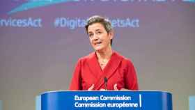 La vicepresidenta de la Comisión, Margrethe Vestager.
