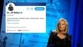 Jill Biden se refiere a sí misma como Doctora en entrevistas y en sus redes sociales.