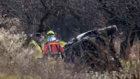Accidente de tráfico en Tudelilla, La Rioja