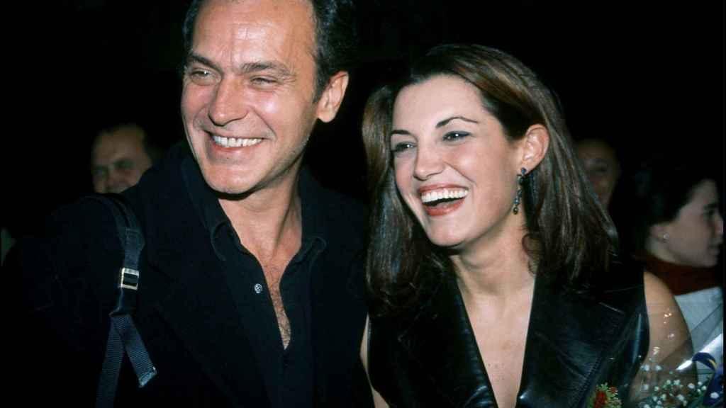 José Coronado y Mónica Molina en una imagen fechada en noviembre de 2001.