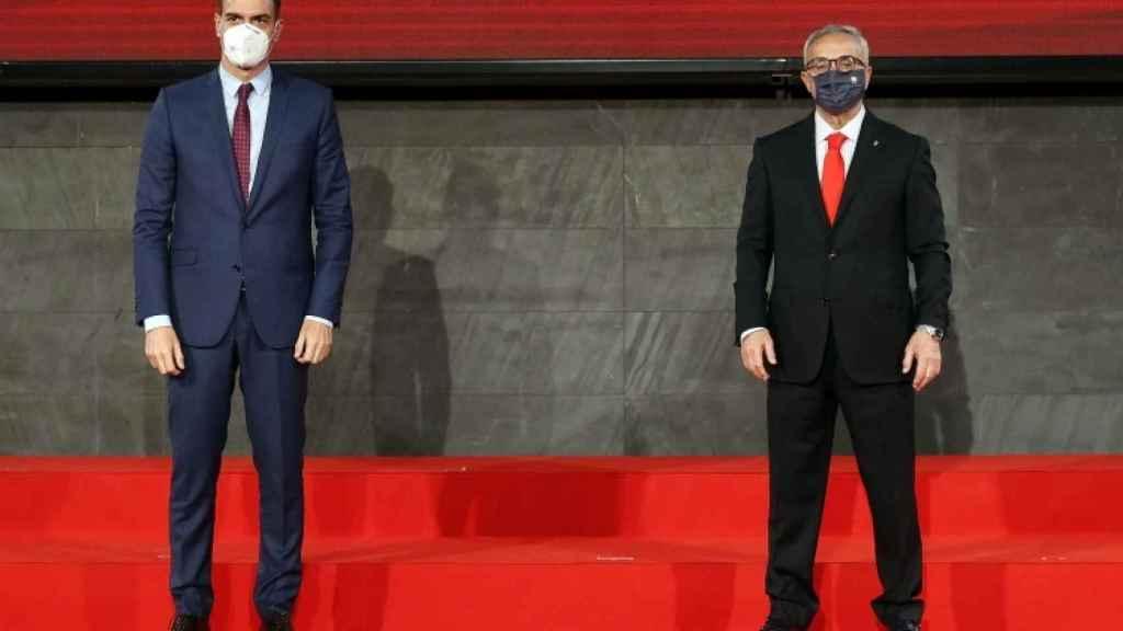 Pedro Sánchez y Alejandro Blanco