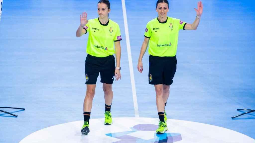 Lorena García y Tania Rodríguez, las árbitras que han hecho historia en Liga ASOBAL