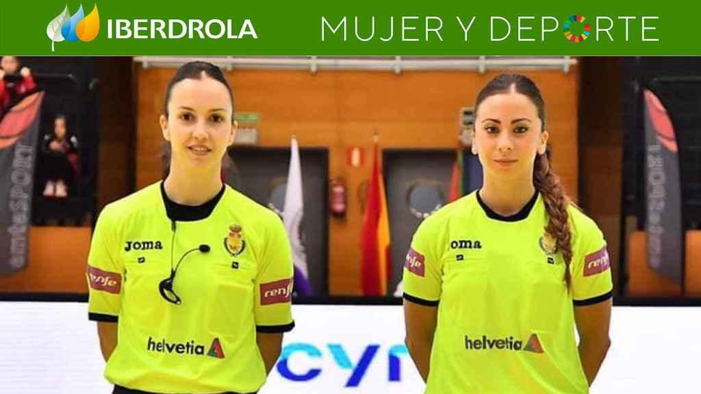 Tania Rodríguez y Lorena García, las árbitras que han hecho historia en Liga ASOBAL