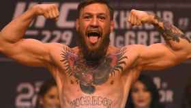 Conor McGregor, en un pesaje de la UFC