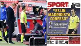 Martínez Munuera y la portada de Sport