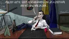 Sánchez y Casado vuelven a aplazar el diálogo tras escenificar su desacuerdo con una llamada estéril