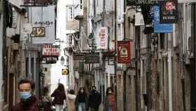 Santiago de Compostela, cerrada perimetralmente antes de la Navidad.