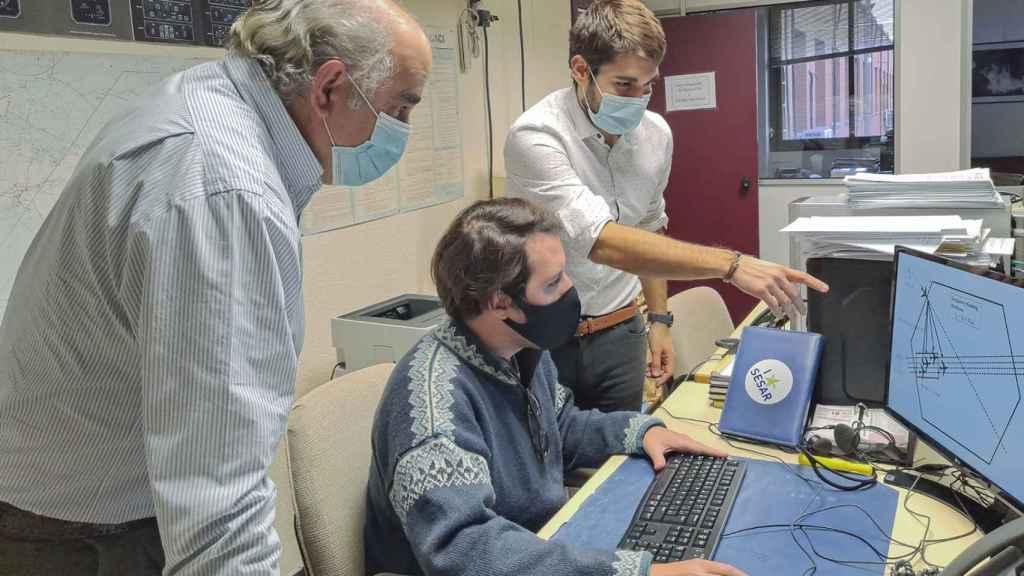 Técnicos del proyecto AISA.