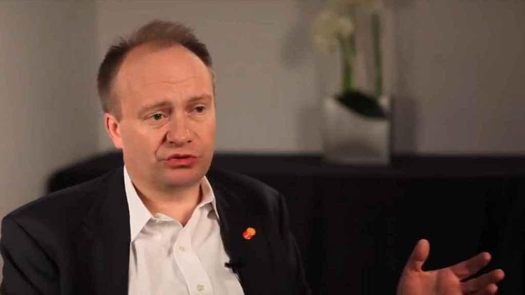 James Anderson, vicepresidente ejecutivo de Productos Comerciales Globales en Mastercard