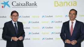 José Ignacio Goirigolzarri será presidente ejecutivo de la nueva CaixaBank y Gonzalo Gortázar, consejero delegado de la entidad.