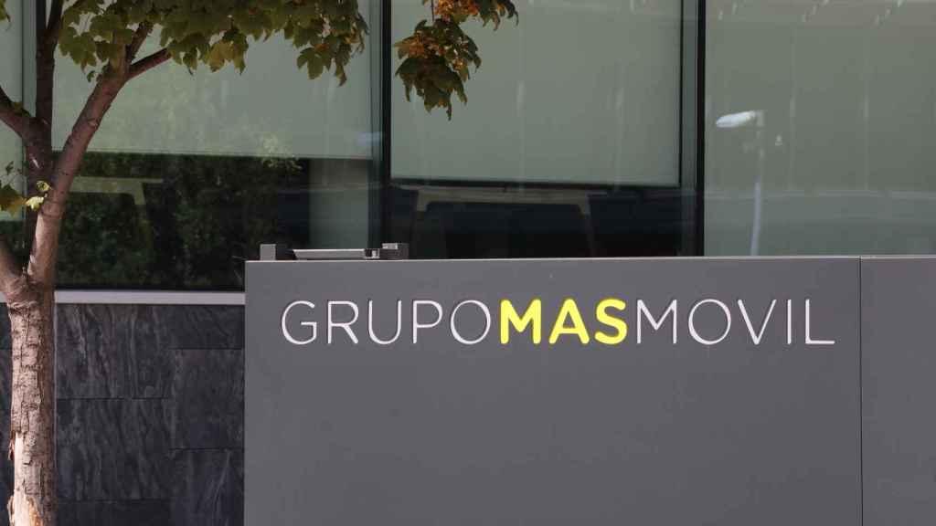 Fachada de la sede de MásMóvil, en una imagen de archivo.