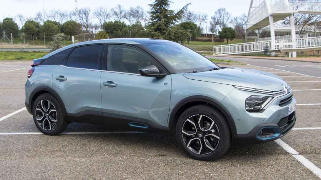 El nuevo Citroën ë-C4 se fabrica en Villaverde.