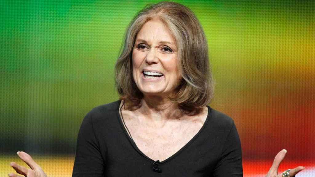 Gloria Steinem en un evento.