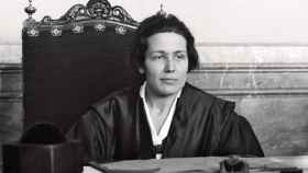 Victoria Kent, la primera abogada de España.