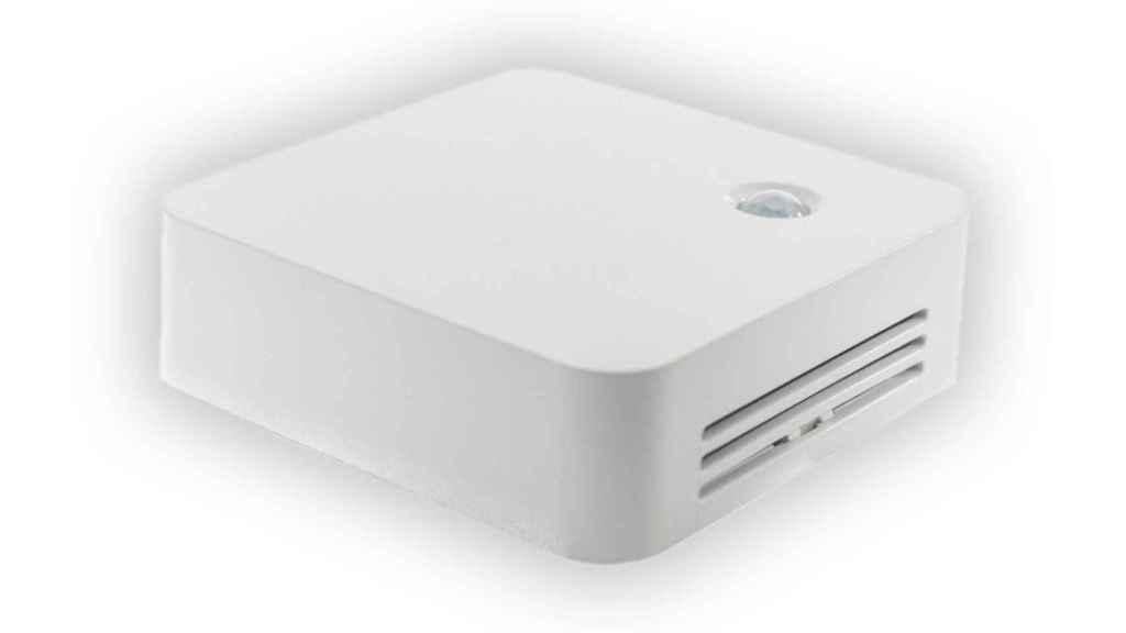 Los sensores CO2 no incluyen una pantalla, sino un indicador LED