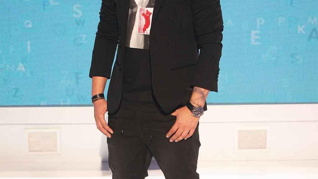 Christian Gálvez en una imagen promocional de 'Pasapalabra', en la era Mediaset.