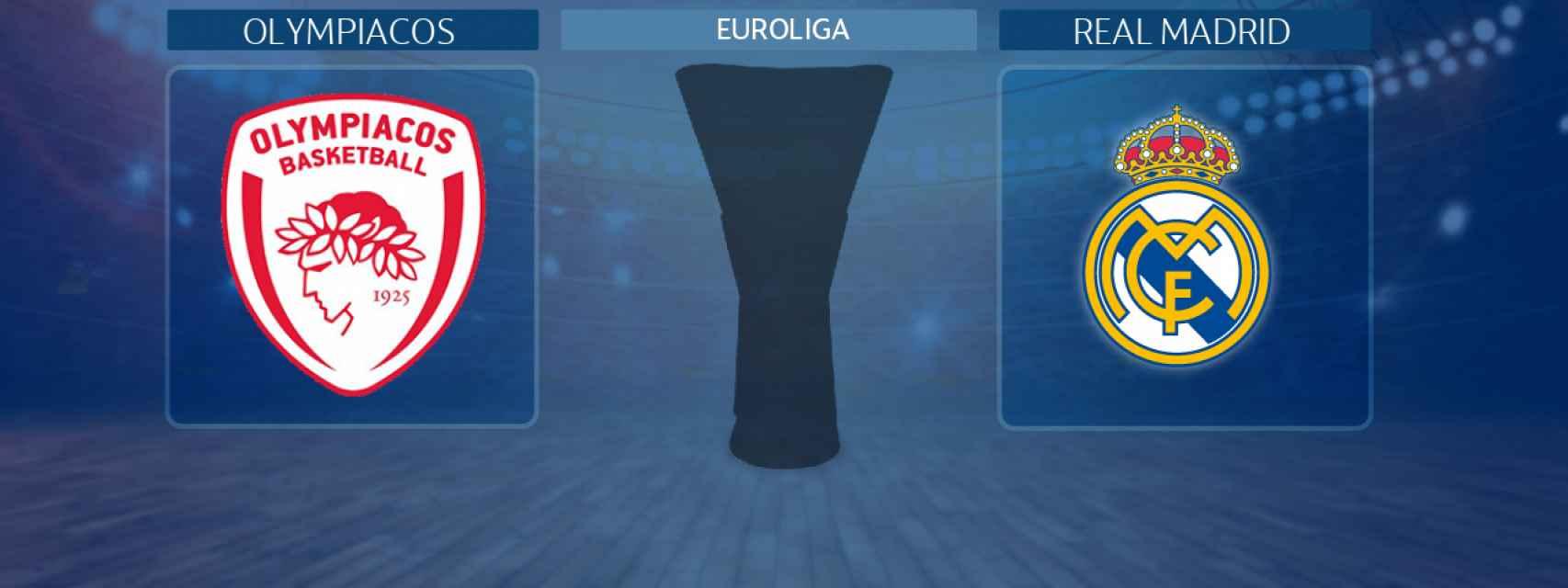 Olympiacos - Real Madrid, partido de la Euroliga